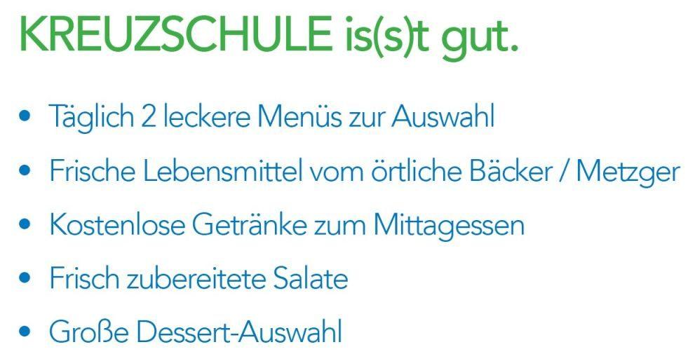 Kreuzschule is(s)t gut!