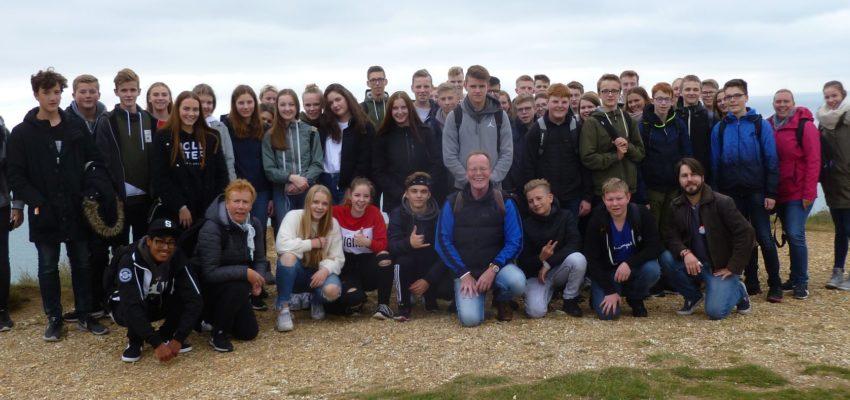 Klassen 10c Und 10e Auf Abschlussfahrt In England
