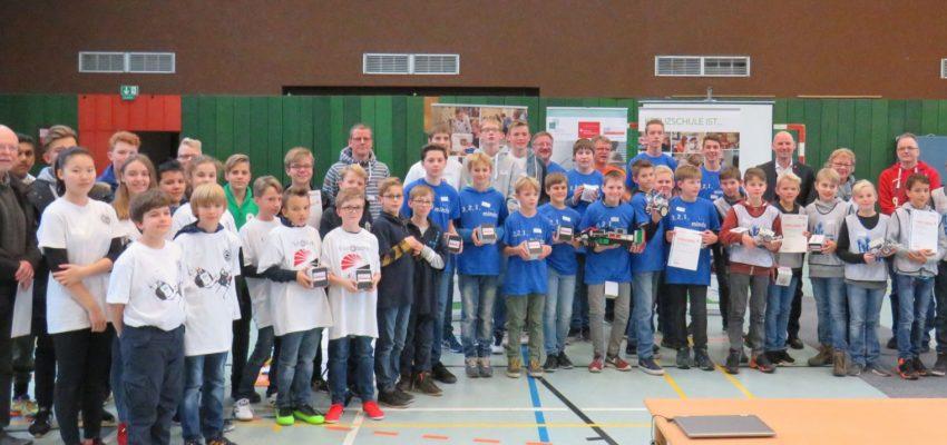 Gymnasien Schloß Buldern Gewinnt Zdi-Roboterwettbewerb An Der Kreuzschule