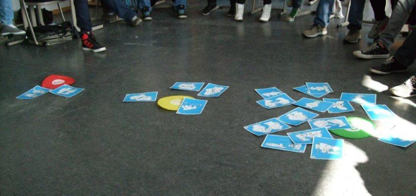 Kreuzschüler Nehmen An Einem Workshop Der Aidshilfe Westmünsterland Teil