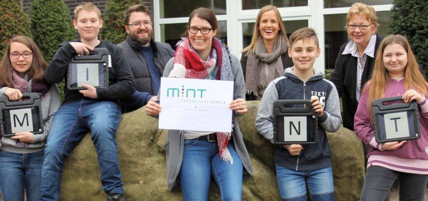 Kreuzschule Erhält MINT-Zertifizierung