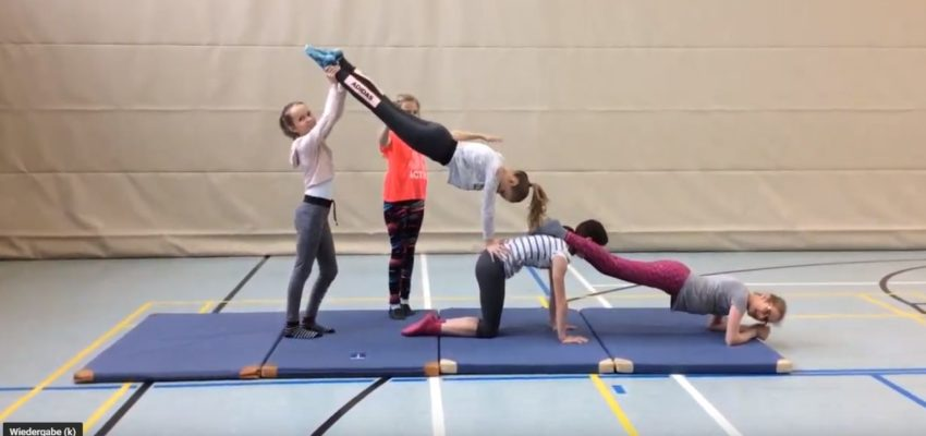 Akrobatik Choreografen In Der 6c