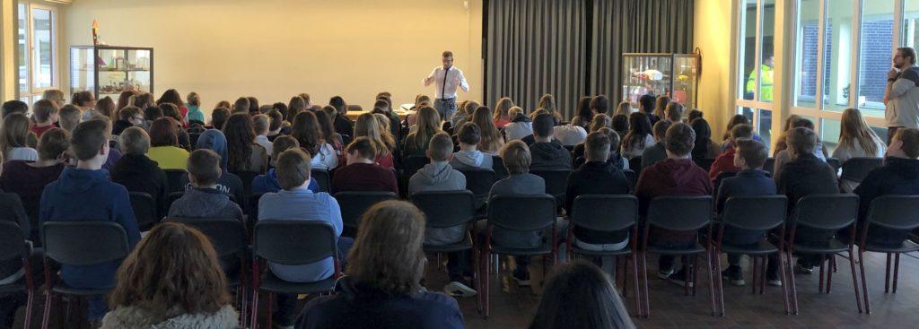 Vortrag von Hermann Wenning zum Start der Suchtpräventionswoche
