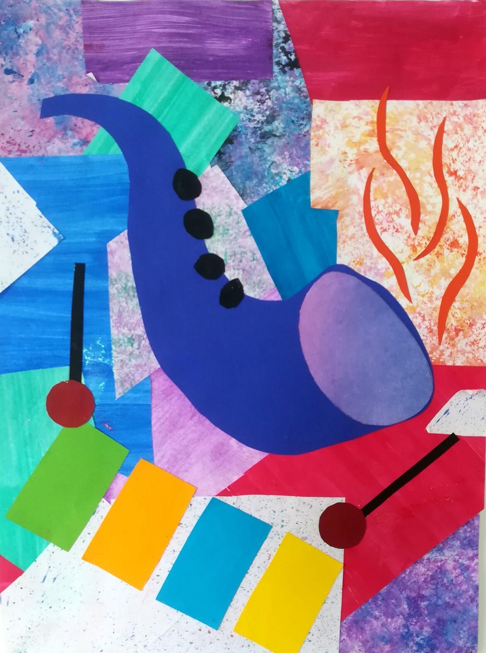 Kunstwerk Des Monats April 2019 Emma Beutner - 8b