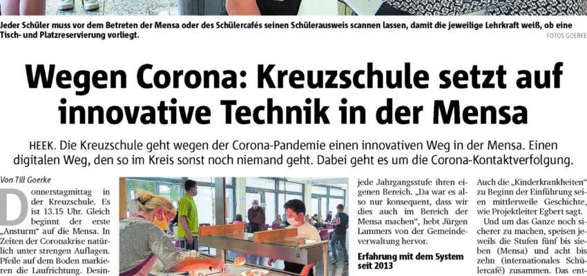 Innovative Technik In Der Mensa Der Kreuzschule